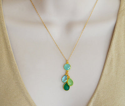 Mothers necklace birthstone, family jewelry, birthday gifts for mom, grandmother gifts