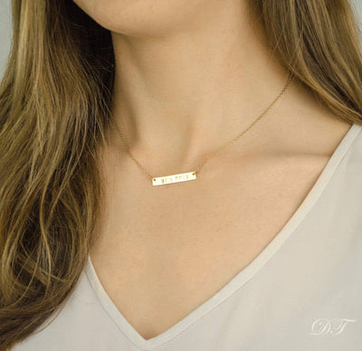 Skyline Bar Necklace