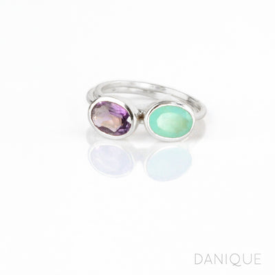 Stacking Ring Set Combo with Tiny Ovals