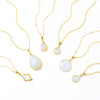 Rainbow Moonstone Necklace : June Birthstone