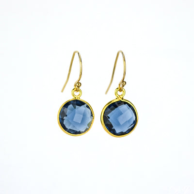 Kyanite Earrings : September Birthstone
