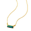 Labradorite Bar Necklace : Adira Series