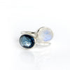 Oval Kyanite Ring - September Birthstone