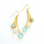 Mother's Lariat Style Birthstone Earrings
