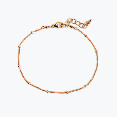 Delicate Dew Drops Bracelet in Gold-Filled, Rose Gold-Filled, and Sterling Silver