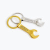 Wrench Bottle Opener Keychain - Handyman Gift