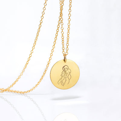 Zodiac necklace - Silver, Gold or Rose Gold filled