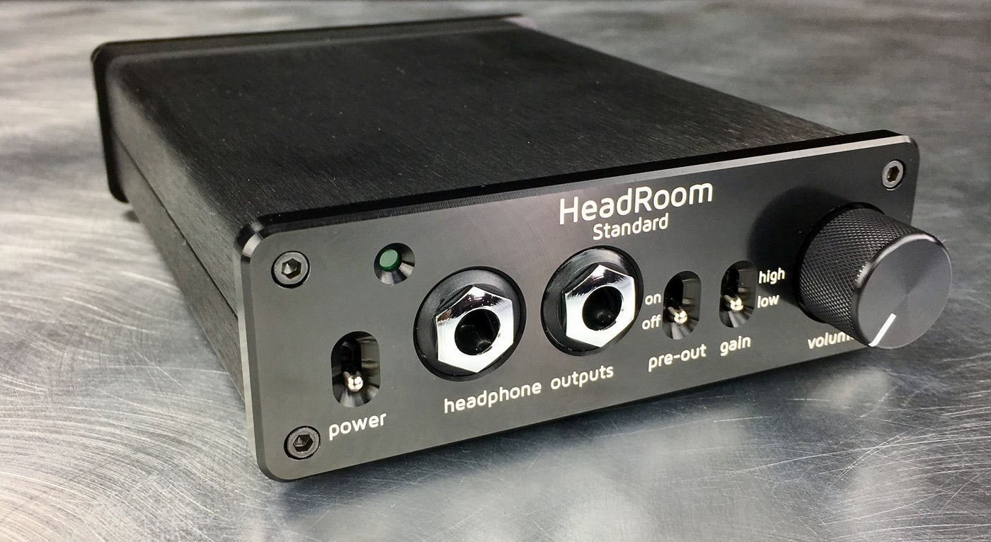 Earbuds covers for running - HeadRoom Audio Standard Headphone Amp