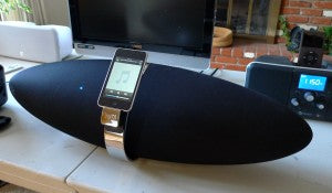 Recent iPod dock listening tests showed the Zeppelin sounds as good as it looks.