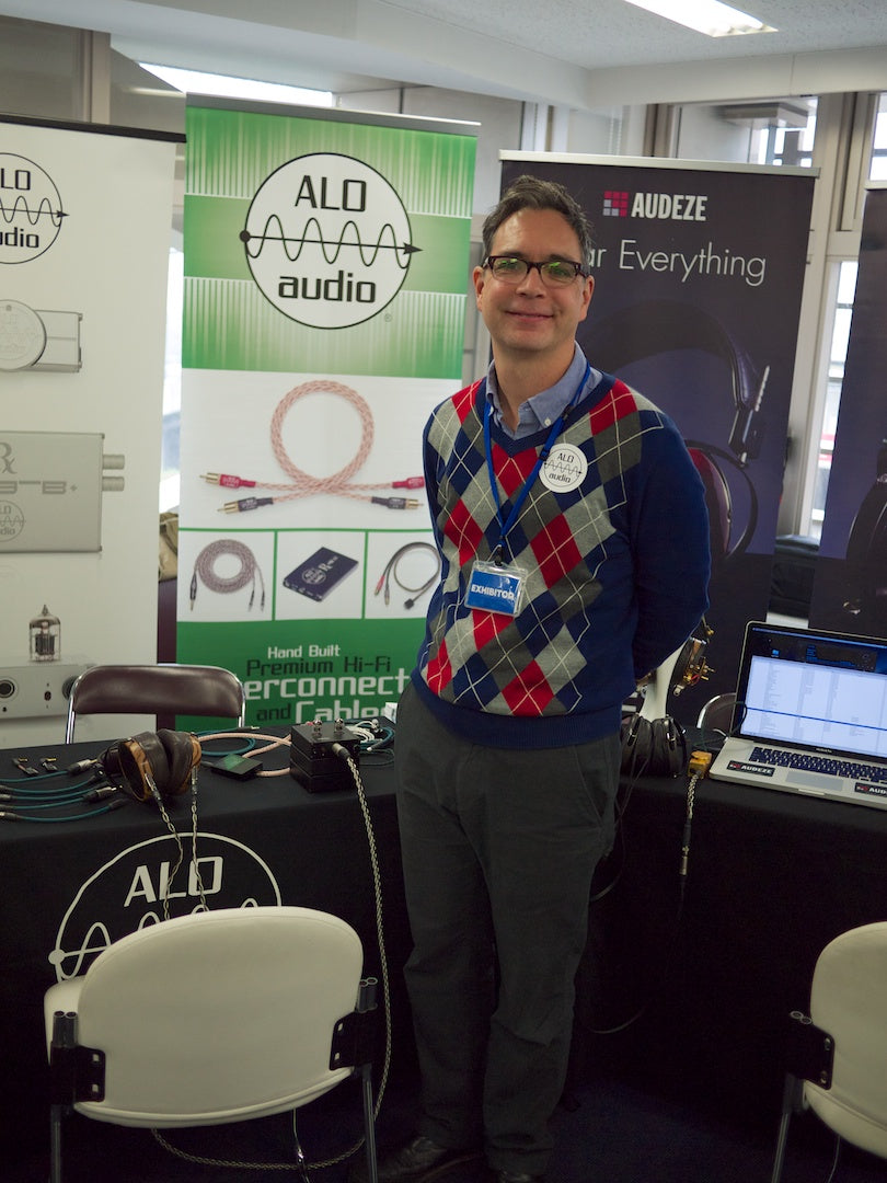 Ken Ball of ALO Audio