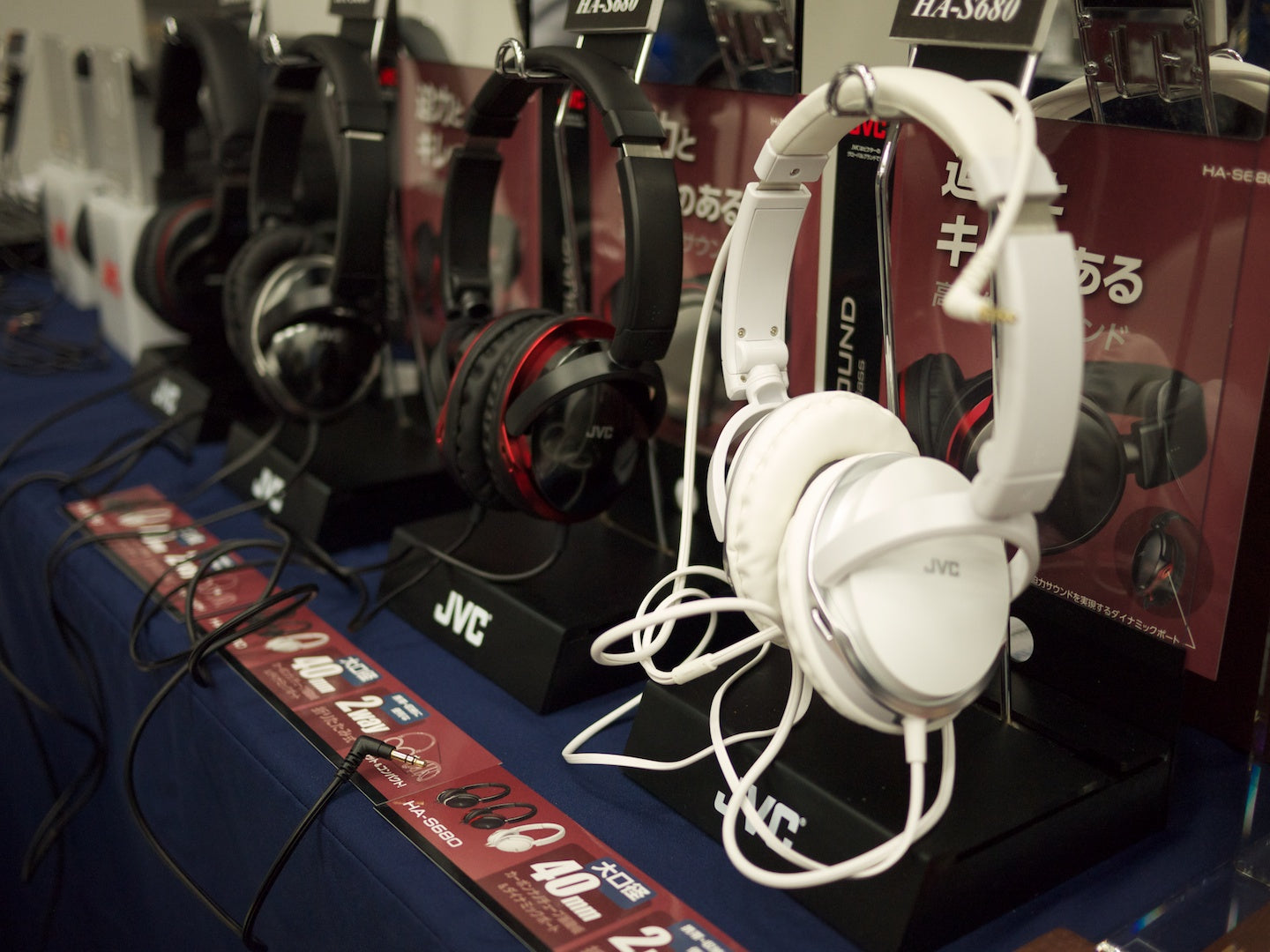 JVC's Standard Headphone Lineup