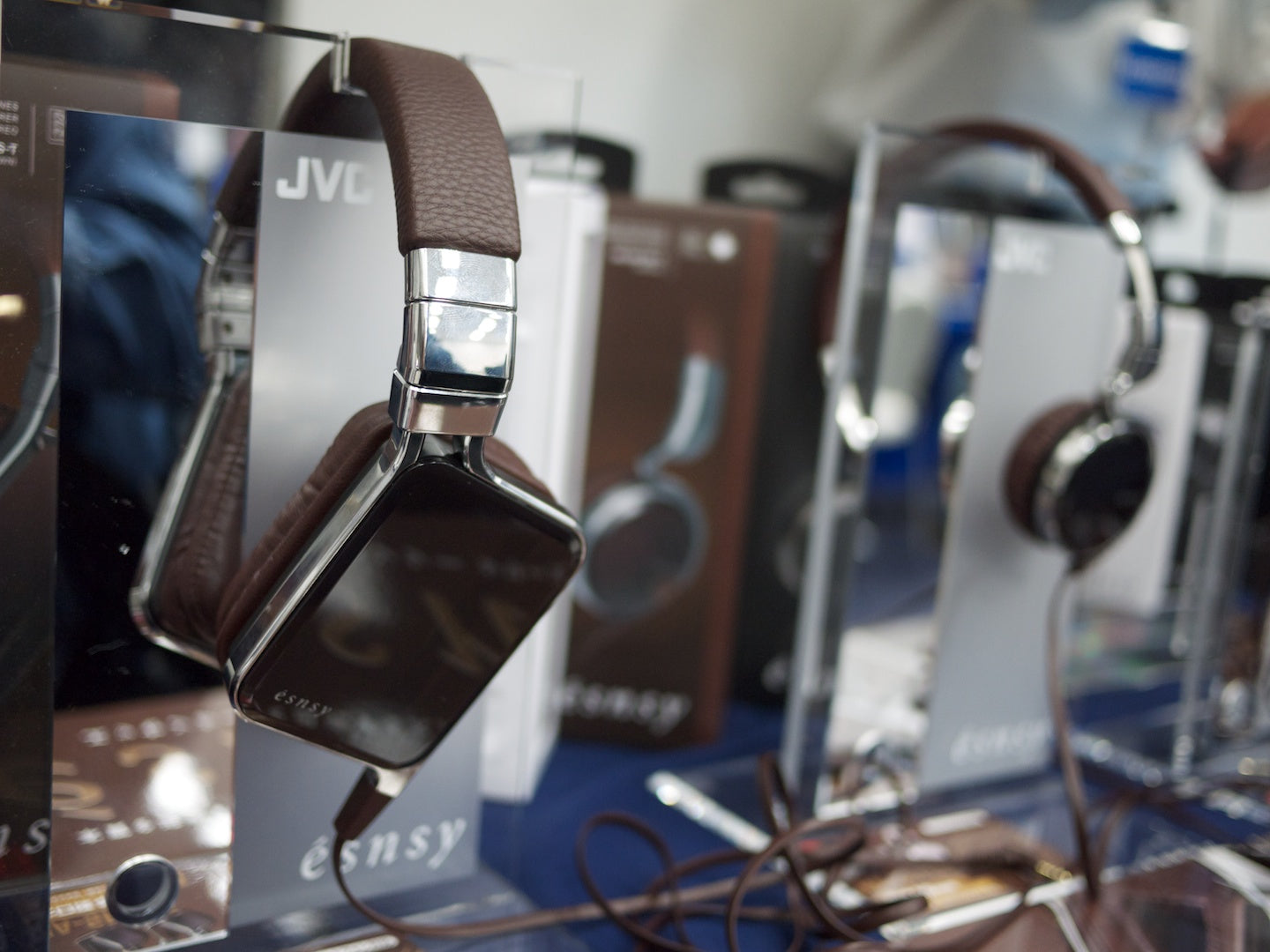 JVC's Luxury Headphone Lineup
