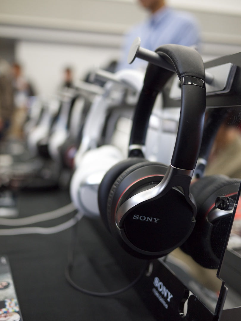 Sony Full Size Headphone Lineup