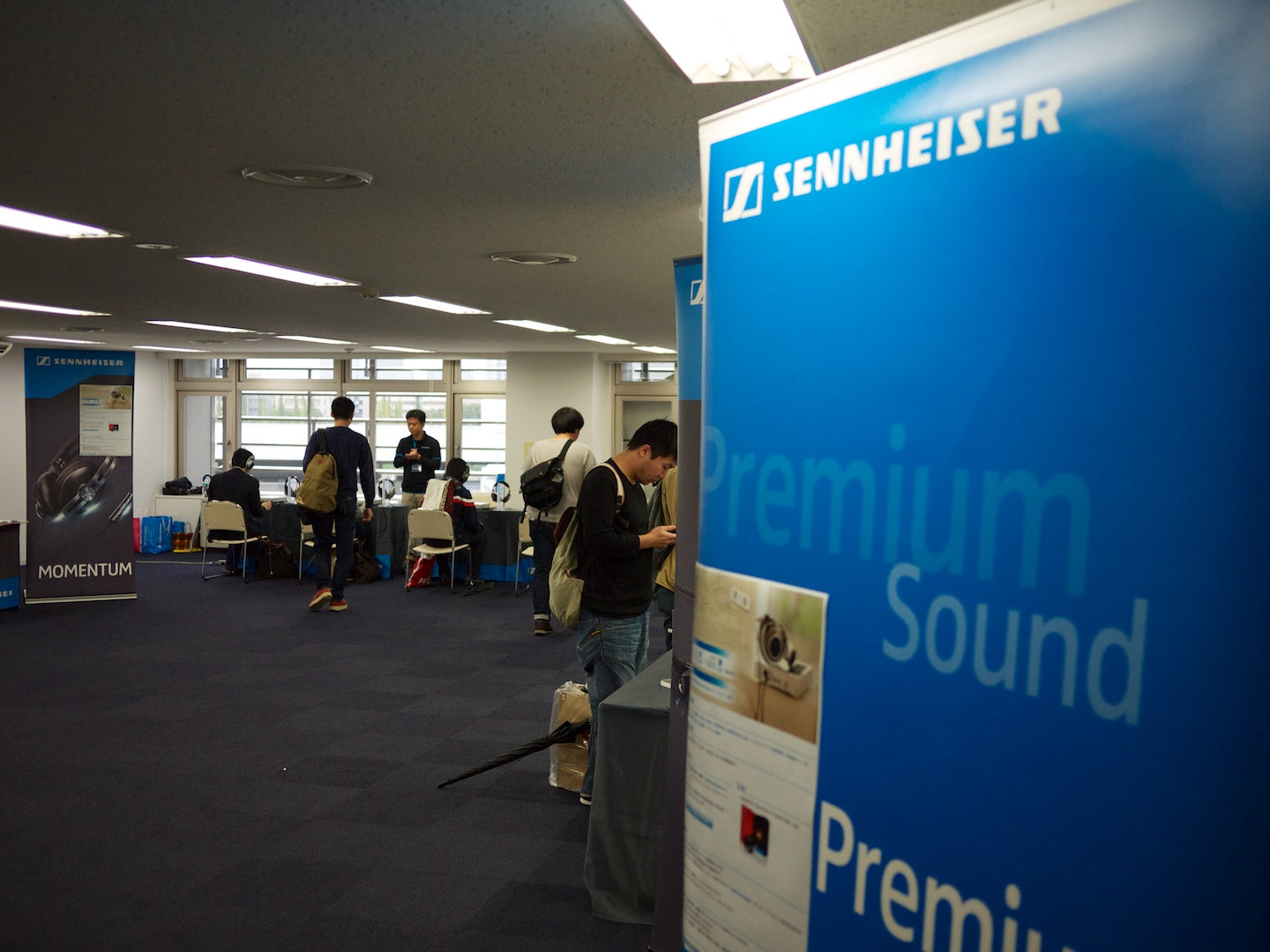 Sennheiser Display Room