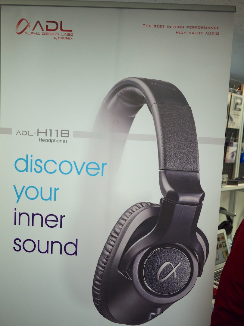 ADL Headphones were on display