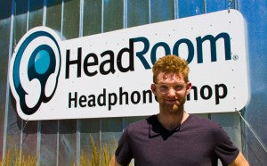 Max Dutcher visits HeadRoom!