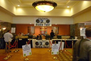 The Rocky Mountain Audiofest 2009 was held at the Marriott Denver Tech Center.