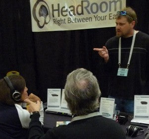 Jeremy points out the value of Sennheiser HD 448 headphones.