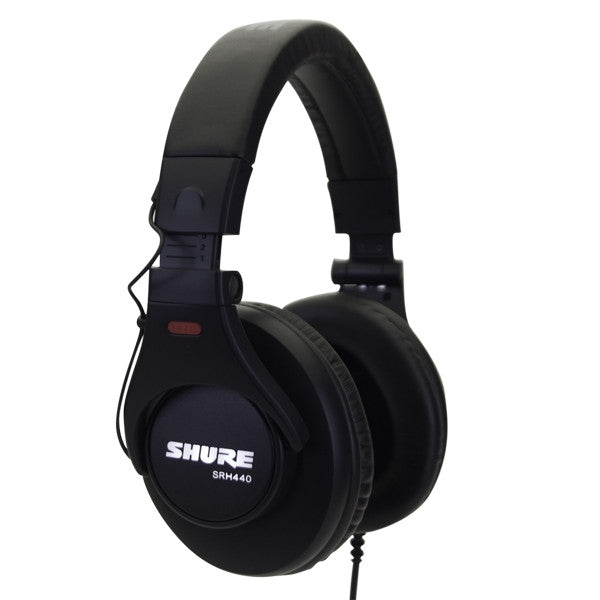 Shure SRH440 Studio Headphones - headphone.com  - 1