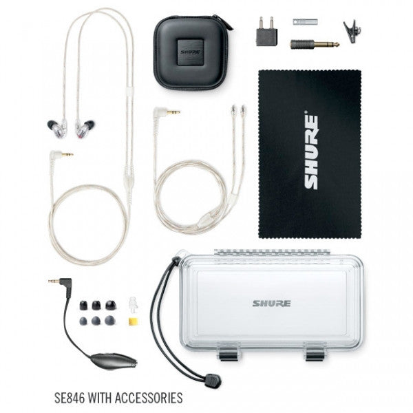 Shure SE846 Sound Isolating Earphones - headphone.com  - 3
