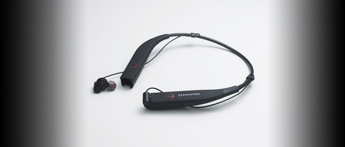 Phiaton BT 100 NC Neck Band Style Earphones