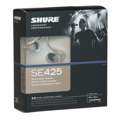 Shure SE425 Sound Isolating Earphones - headphone.com  - 7