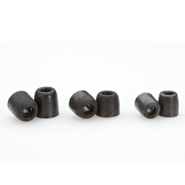 Comply T-400 Foam Tips 3-pair Black - headphone.com  - 2