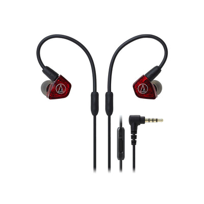 Audio-Technica ATH-LS200iS In-Ear Balanced Dual Driver Earphones