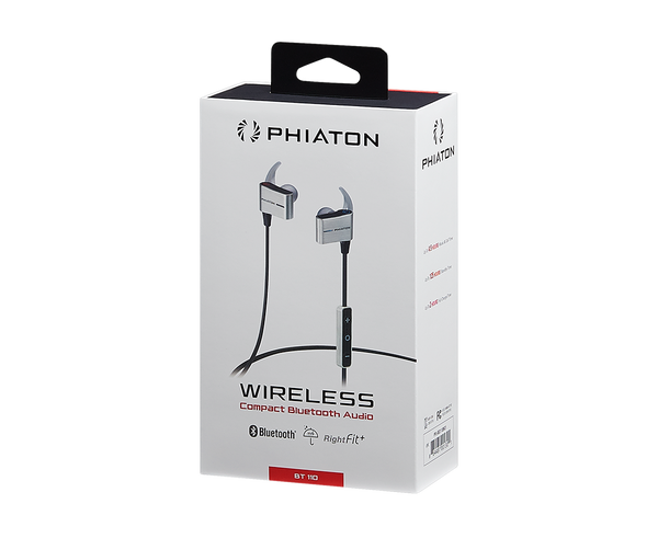 Phiaton BT 110 Bluetooth Earphones - headphone.com  - 4