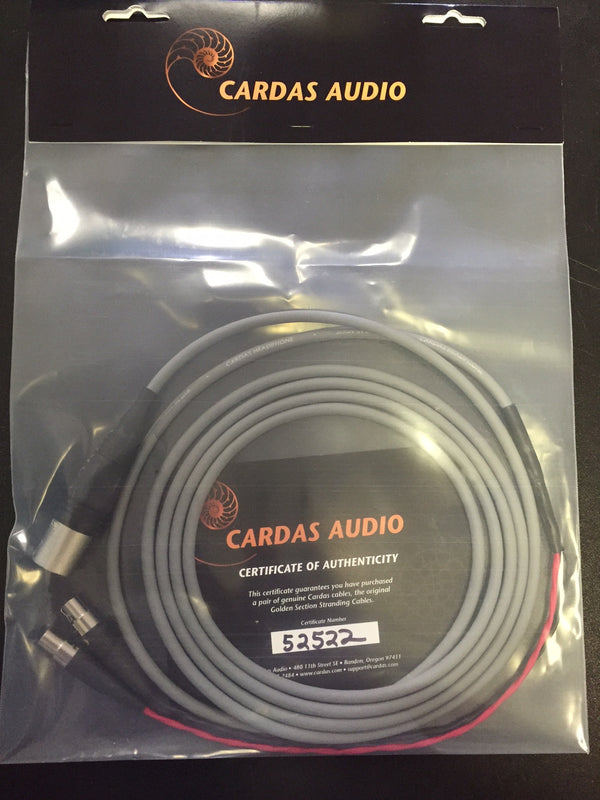 Cardas Cable for Audeze LCD Series 10ft 4-pin XLR