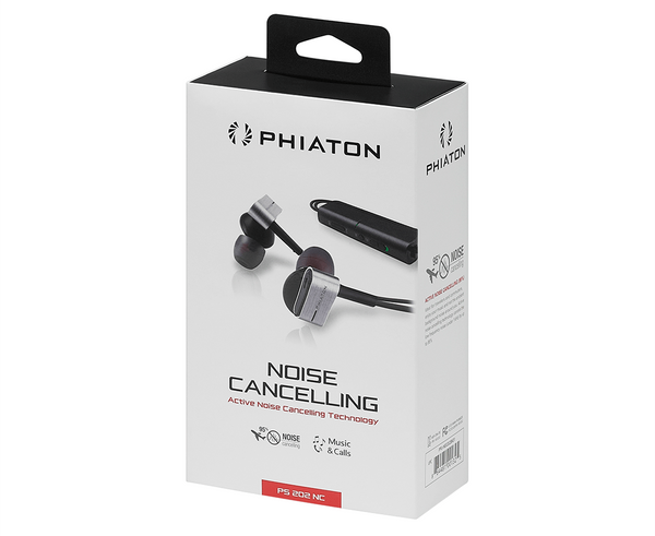 Phiaton PS 202 NC Noise Cancelling Earphone - headphone.com  - 5