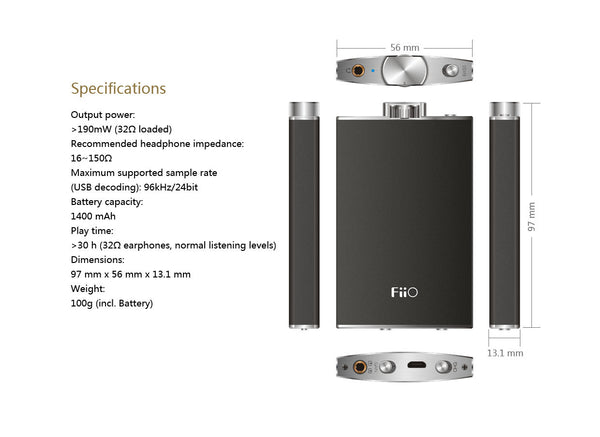 FiiO Q1 Headphone Amp/DAC