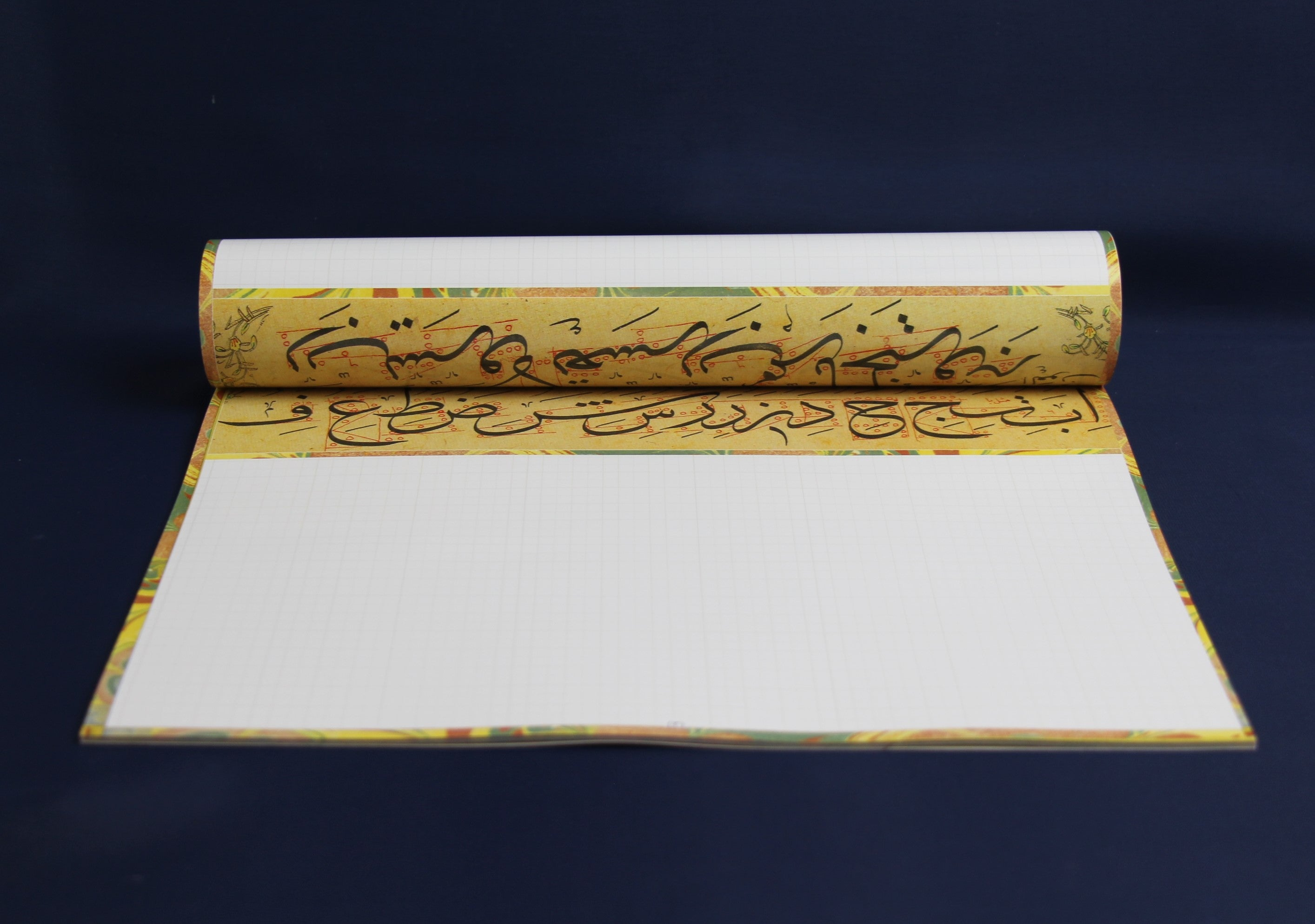 Arabic calligraphy workbook for Thuluth script (2)3