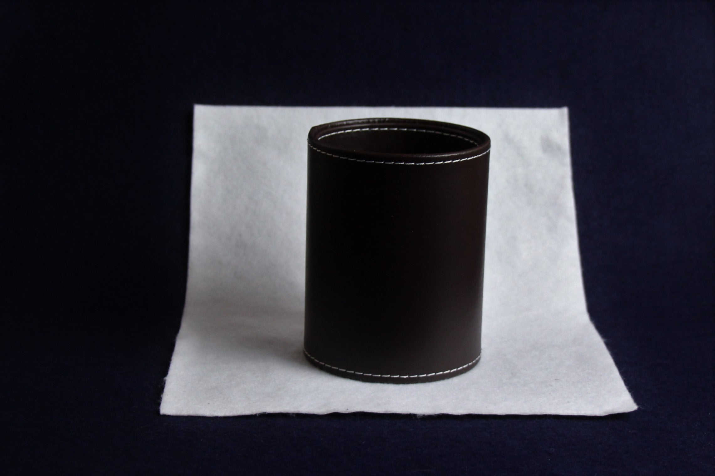 Set of 5 qalams for Arabic calligraphy with ebony nibs: 1 to 5 mm - black handle