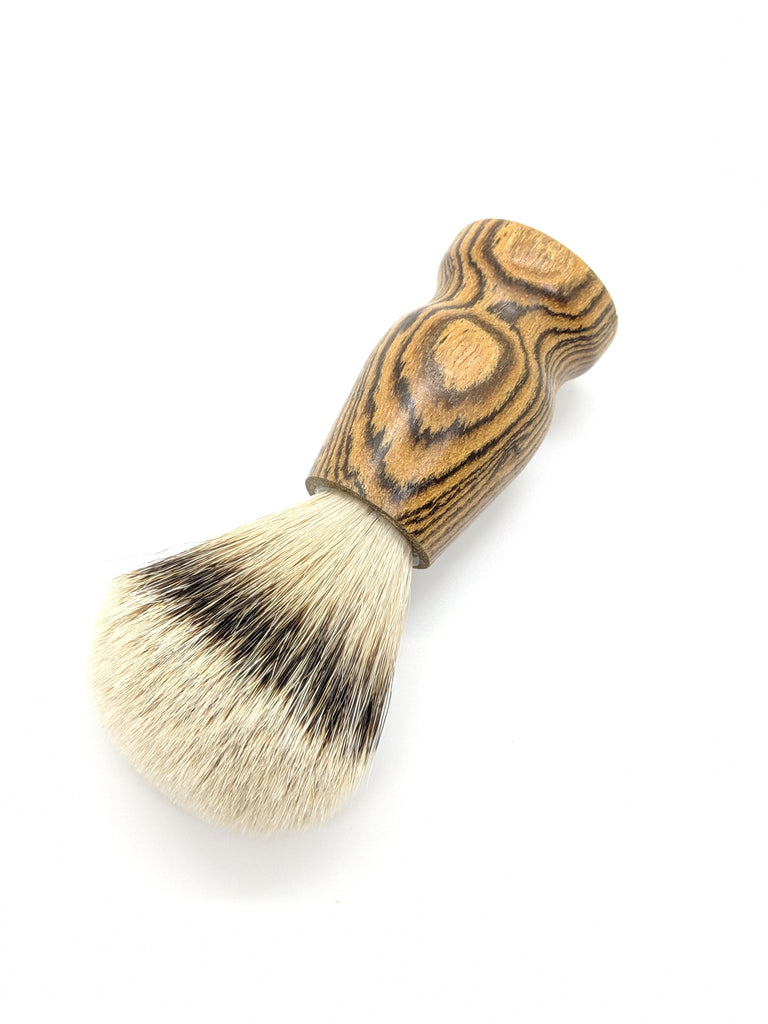 Limited Edition Bocote Wood - Silvertip Badger Hair Brush