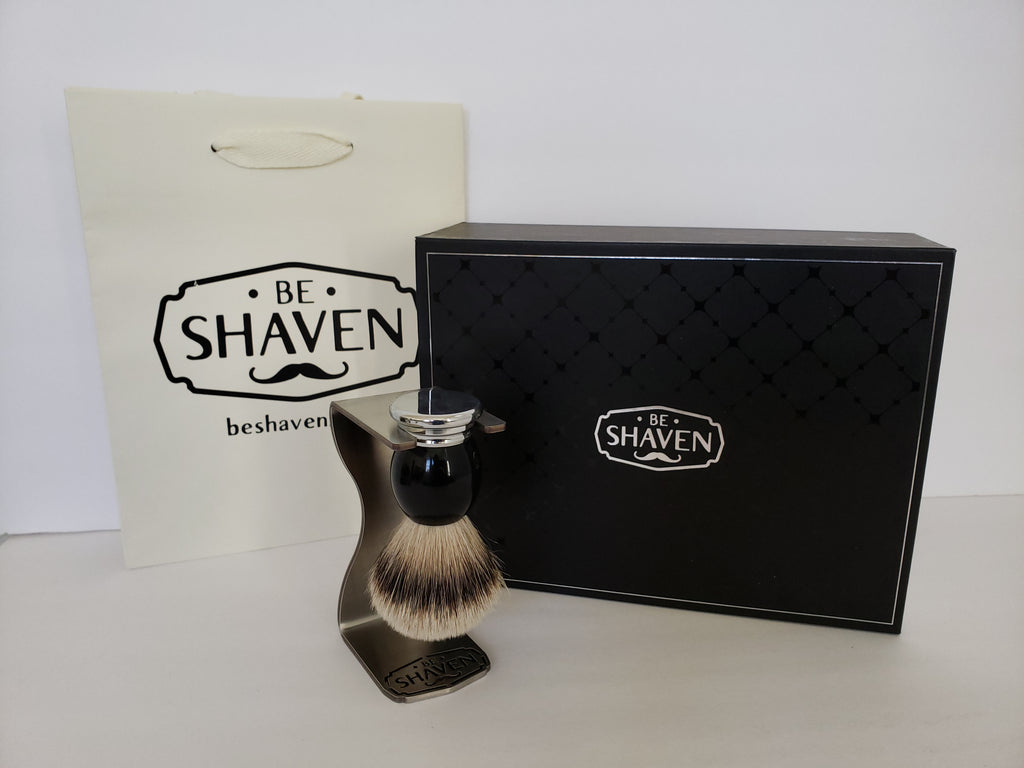 Lethal Classic Silvertip Badger Hair Brush