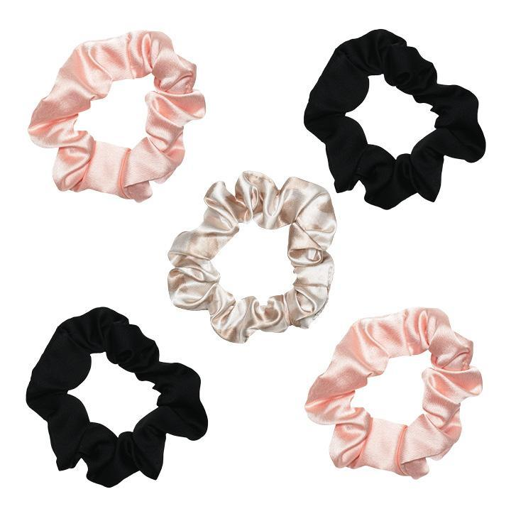 Assorted Satin Sleep Scrunchies