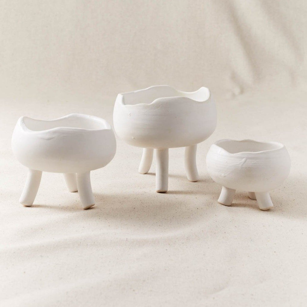 Cloud Spice Bowl w/ Feet - Set of 3