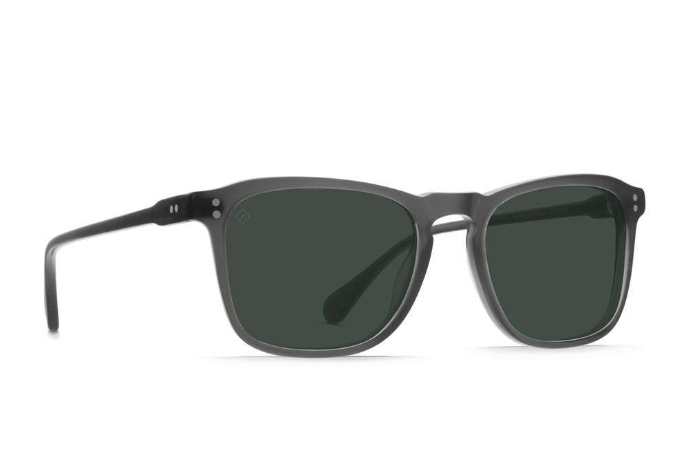 Matte Grey Crystal / Green Polarized
