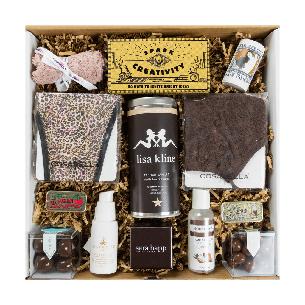Chocolate & Vanilla Goodies Gift Box