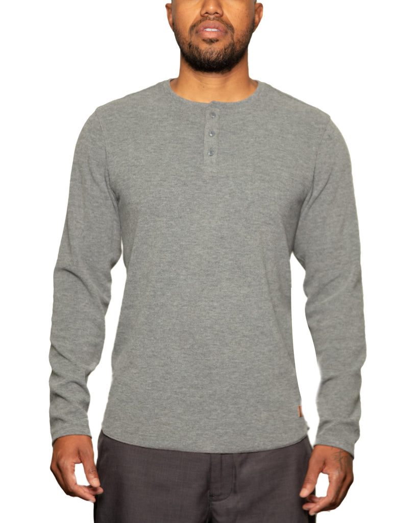 Andy Cashmere Touch Henley Grey