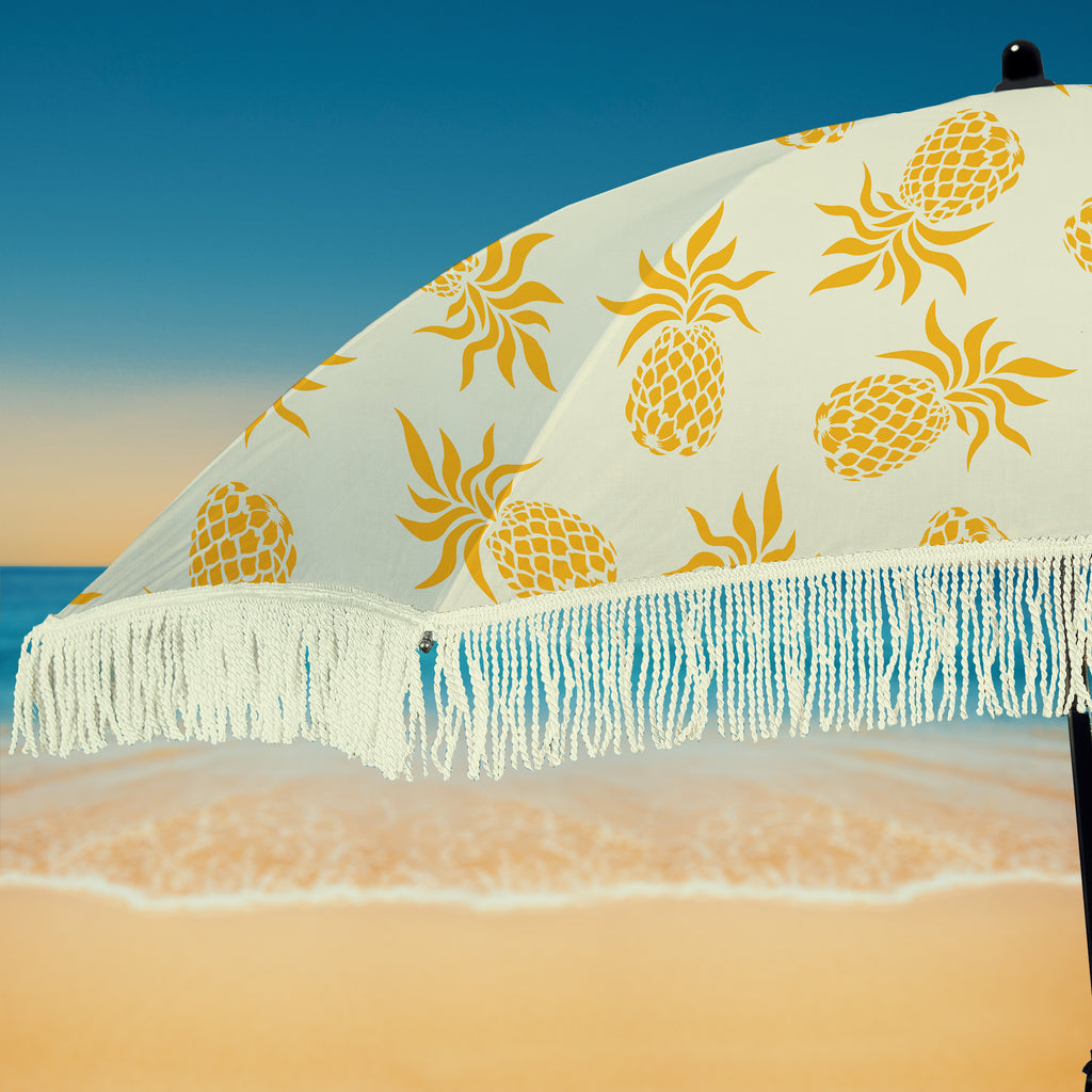 Caribbean Beach Umbrella • 100% UV Protection