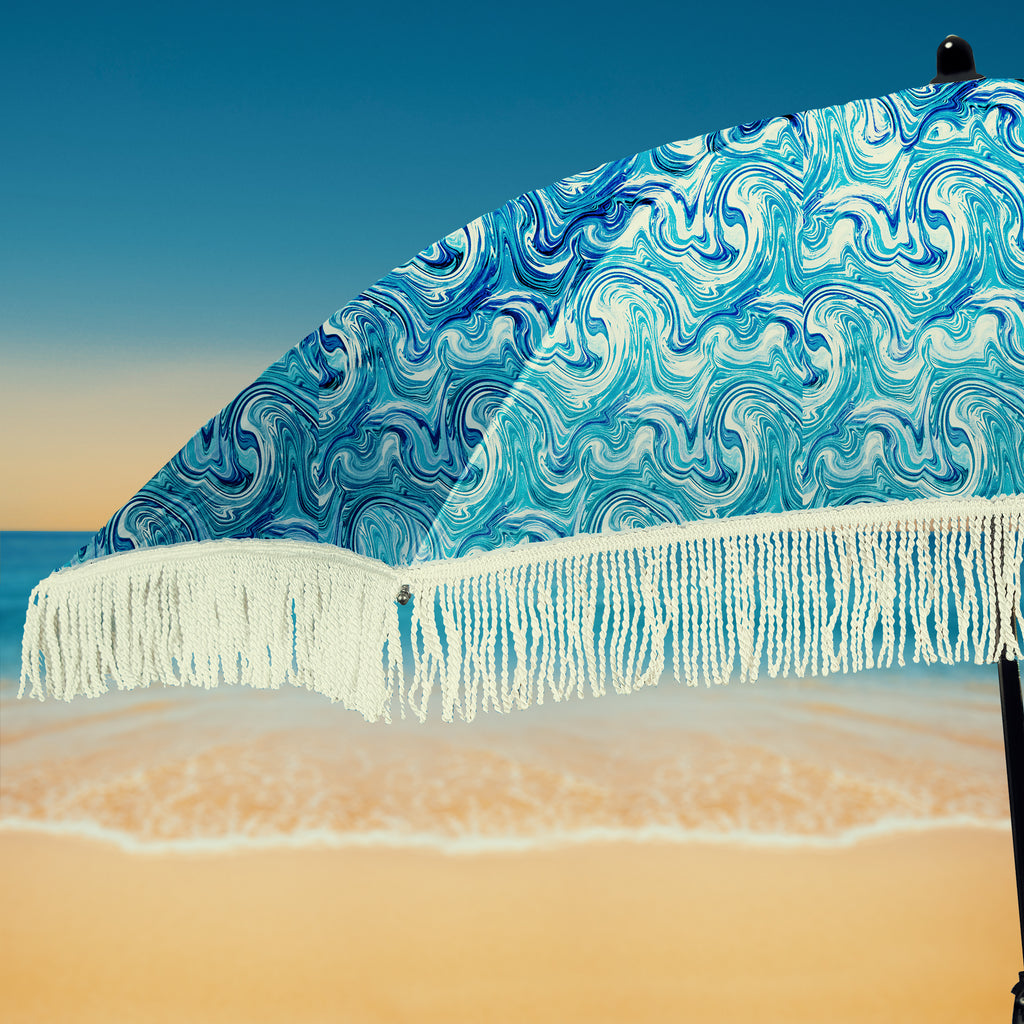 Wave Beach Umbrella • 100% UV Protection