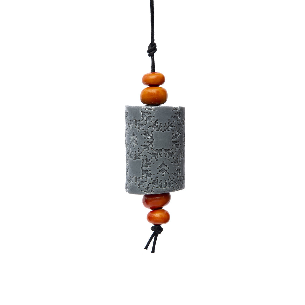 Activated Charcoal Oriental Soap on a Rope. The Marrakech hanging Jewel. Moroccan resin beads