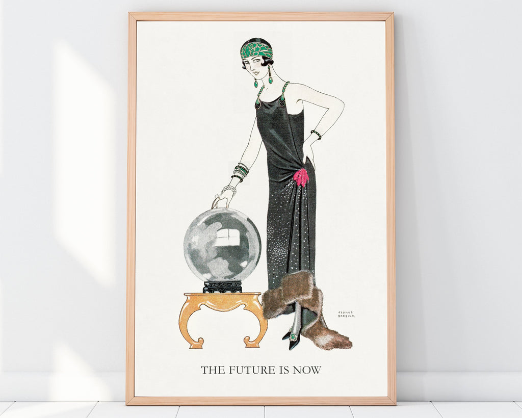 LINDSEY FOARD // The Future is Now Print // Antiquarian Art