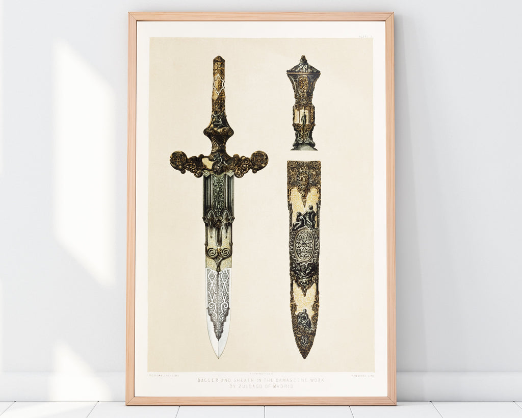 LINDSEY FOARD // Dagger & Sheath Print // Antiquarian Art