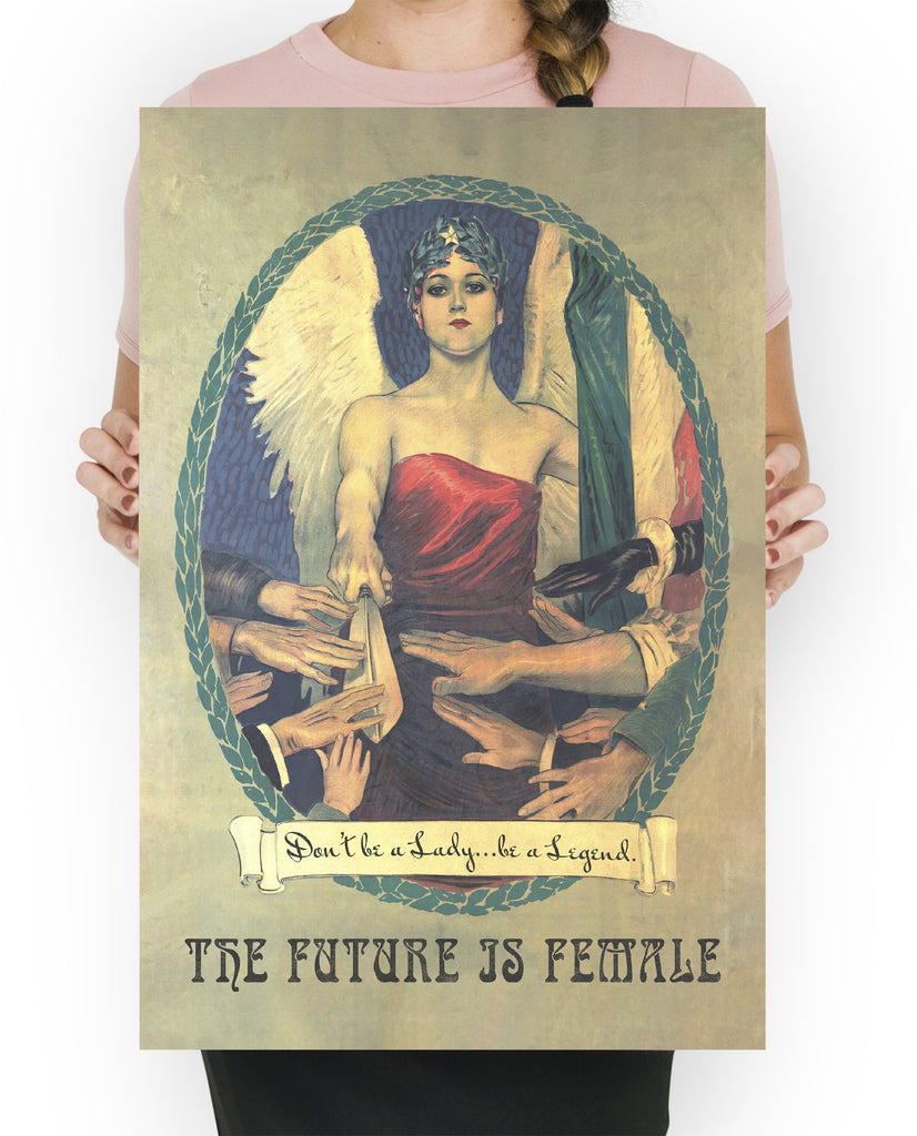 LINDSEY FOARD // Don't Be a Lady Print // Antiquarian Art