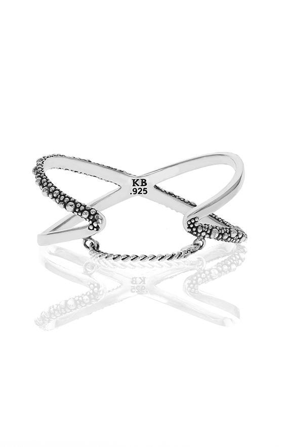 king baby stingray womens x cross cuff