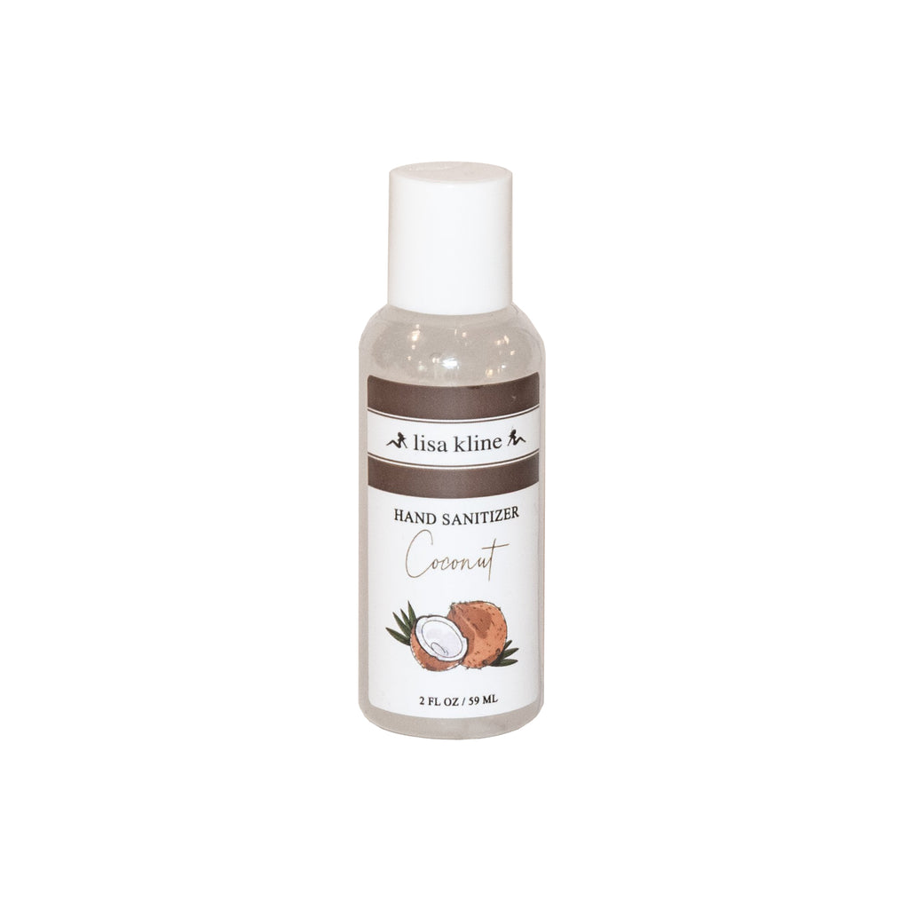 Coconut Hand Sanitizer 2oz