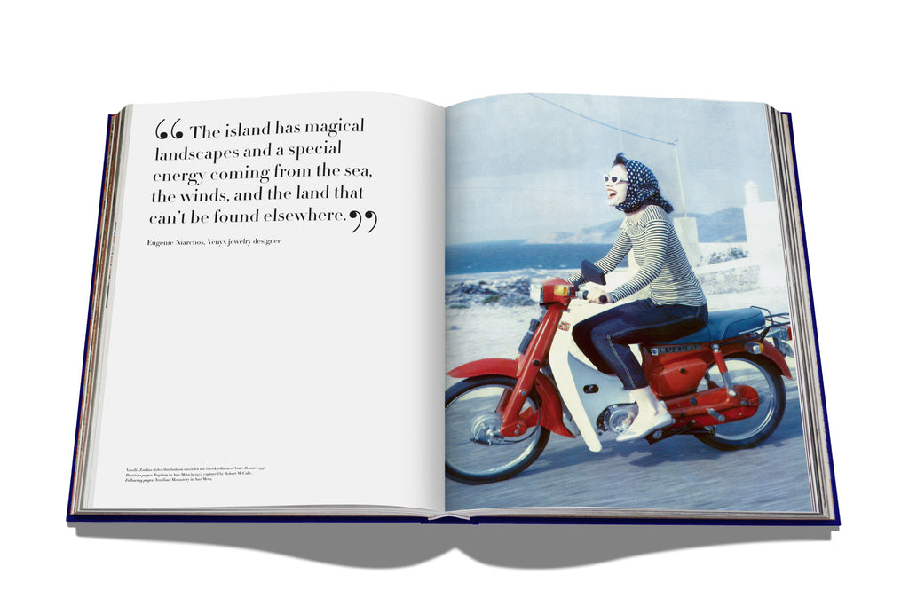 Mykonos Muse Photo Book From Assouline